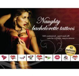afbeelding tattoo set - naughty bachelorette