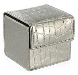 afbeelding devine condoom cube zilver croco