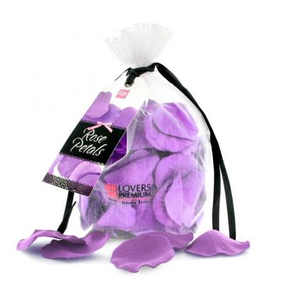 afbeelding loverspremium - bed of roses paars