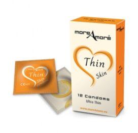 afbeelding moreamore - condoom thin skin 12 st.