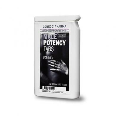 afbeelding coolmann - male potency tabs flatpack