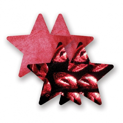 afbeelding nippies - print red hot lips ster