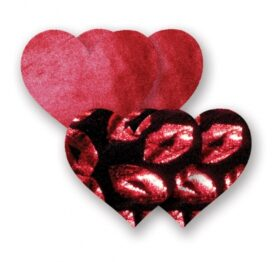 afbeelding nippies - print red hot lips hart