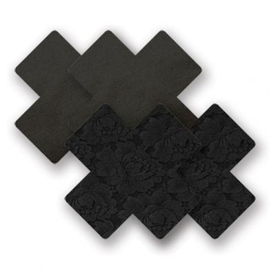 afbeelding nippies - basic zwart kruis