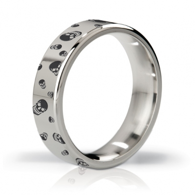 afbeelding mystim - his ringness duke polished / engraved 51m