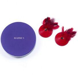 afbeelding rianne s - pasties birds rood