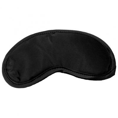 afbeelding s / m - satijnen blinddoek zwart