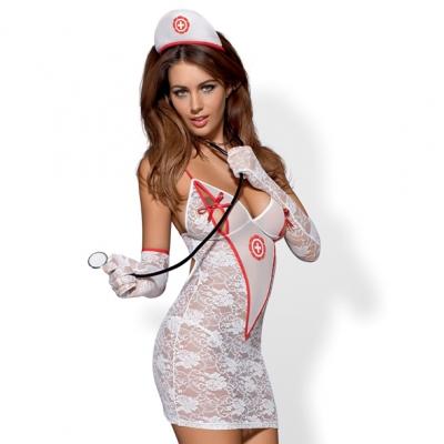 afbeelding obsessive - medica jurk kostuum s/m