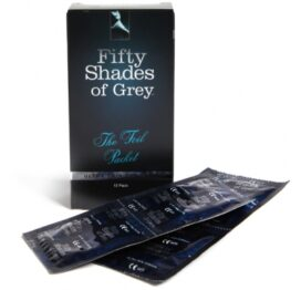 afbeelding fifty shades of grey - condooms 12 st.