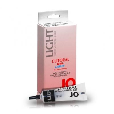 afbeelding system jo - clitoral gel light 10 cc