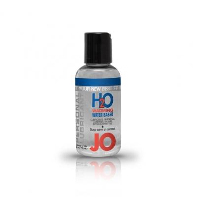afbeelding system jo - h2o glijmiddel warm 75ml.