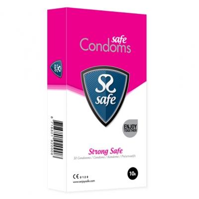 afbeelding safe - strong condooms 10 stuks