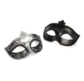 afbeelding fifty shades of grey - masquerade mask twin pack