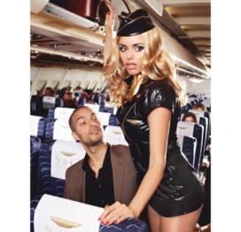 afbeelding baci - sexy stewardess m/l