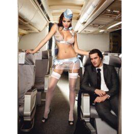 afbeelding baci - eerste klas stewardess one size