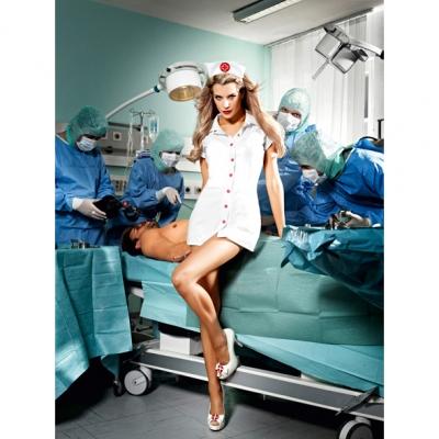 afbeelding baci - o.k. verpleegster set one size