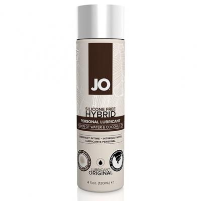 afbeelding system jo - hybride glijmiddel coconut 120 ml