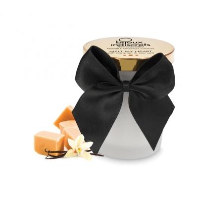 afbeelding bijoux cosmetiques - zachte caramel massagekaars