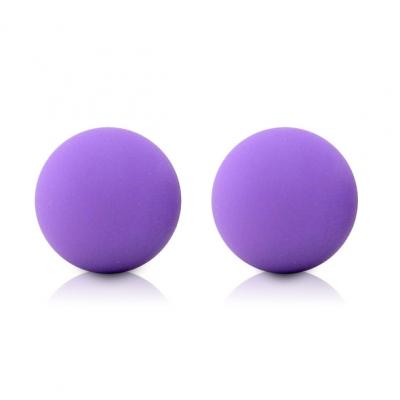 afbeelding maia toys - kegel ballen neon paars