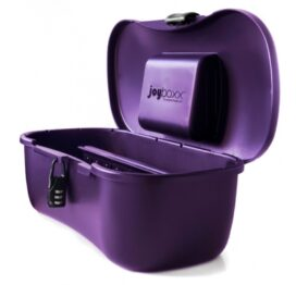 afbeelding joyboxx - hygienisch opbergsysteem paars