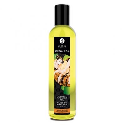 afbeelding shunga - massage olie organic zoete amandel