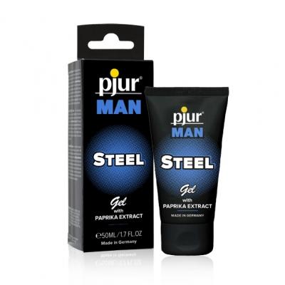 afbeelding pjur - man steel gel 50 ml