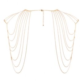 afbeelding bijoux indiscrets - magnifique schouder sieraad goud