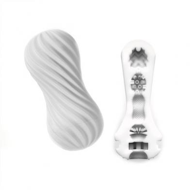 afbeelding tenga - flex masturbatie sleeve silky wit
