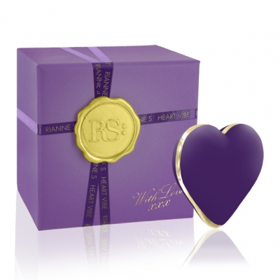 afbeelding rs - icons - heart vibe paars