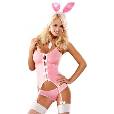afbeelding obsessive - bunny suit kostuum l/xl