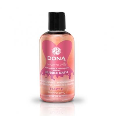 afbeelding dona - bubbelbad blushing berry 250 ml