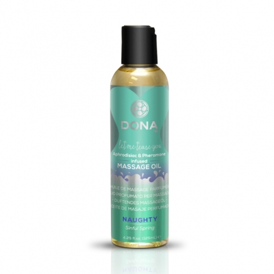 afbeelding dona - scented massage olie sinful spring 125 ml