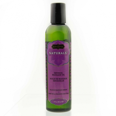 afbeelding kama sutra - naturals massage oil island passion berry