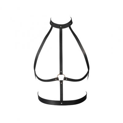 afbeelding bijoux indiscrets - maze h harness zwart