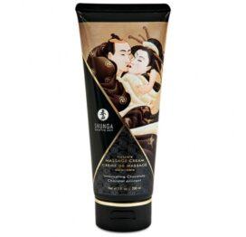 afbeelding shunga - massage cream chocolade 200 ml