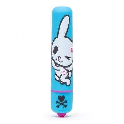 afbeelding tokidoki - mini bullet vibrator blauw honey bunny