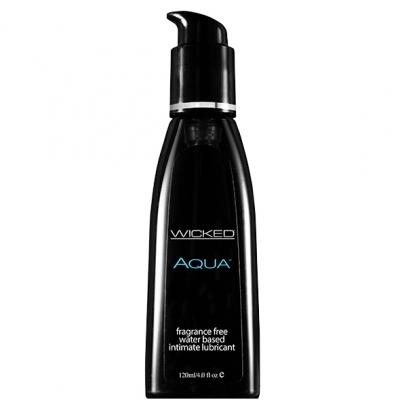 afbeelding wicked - aqua geurvrij waterbasis glijmiddel 120 ml