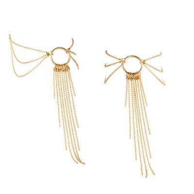 afbeelding bijoux indiscrets - magnifique voet ketting goud