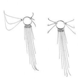 afbeelding bijoux indiscrets - magnifique voet ketting zilver