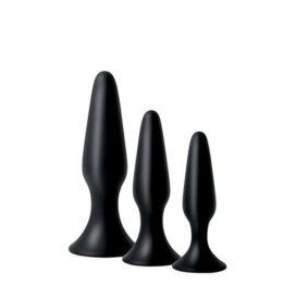 afbeelding Siliconen anaalplug set Adam & Eve