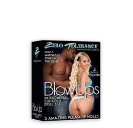 afbeelding Cuckold opblaaspoppen set met DVD Zero Tolerance