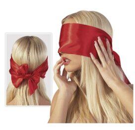 afbeelding bondage blinddoek - rood