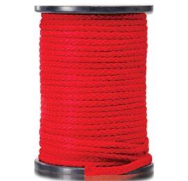 afbeelding bondage touw 60 meter - rood