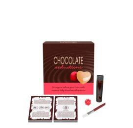 afbeelding Kaartspel chocolade bodypaint