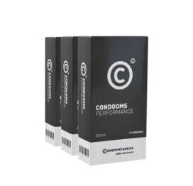 afbeelding Condoomfabriek Performance Condooms voordeelpakket 30st
