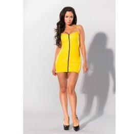 afbeelding Datex jurkje met rits (geel)