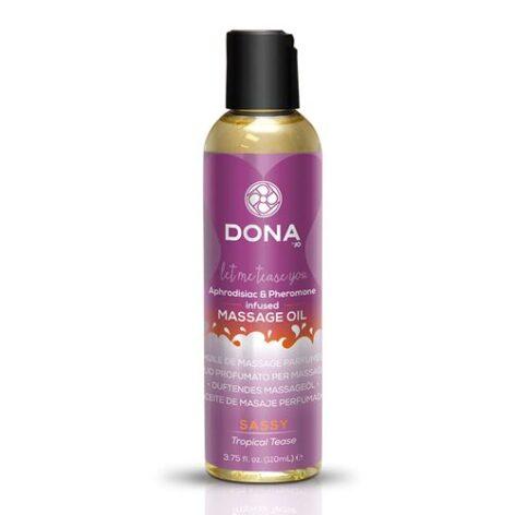 afbeelding Dona geparfumeerde massageolie