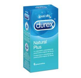 afbeelding Durex Natural Plus 6 condooms