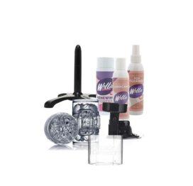 afbeelding Fleshlight Quickshot Vantage met accessoires pakket