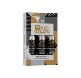 afbeelding JO - Gelato glijmiddel smaakjes triple pack 3x30ml
